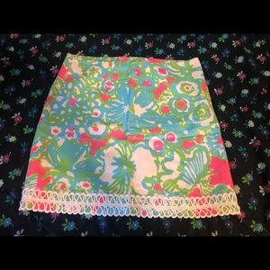 Lilly Pulitzer lavender skirt size 10